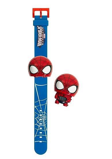 Amazon.com: BulbBotz 2021159 Marvel Spiderman Light Up Watch: Bulb Botz: Watches