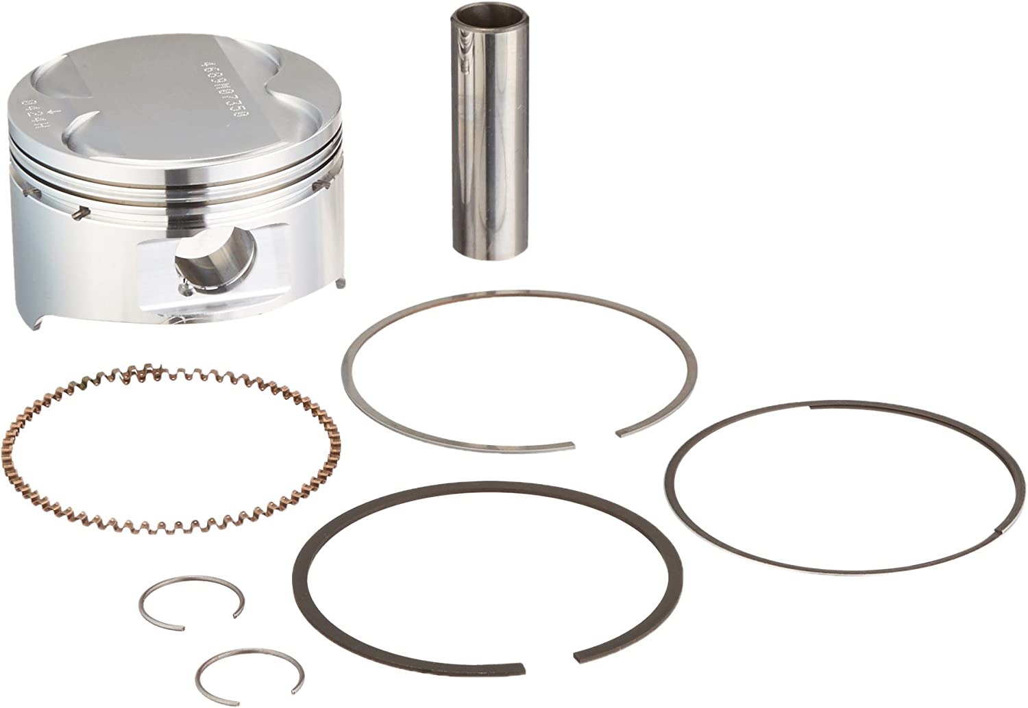 Wiseco 4689M07350 73.50mm 10.5:1 Compression Motorcycle Piston Kit