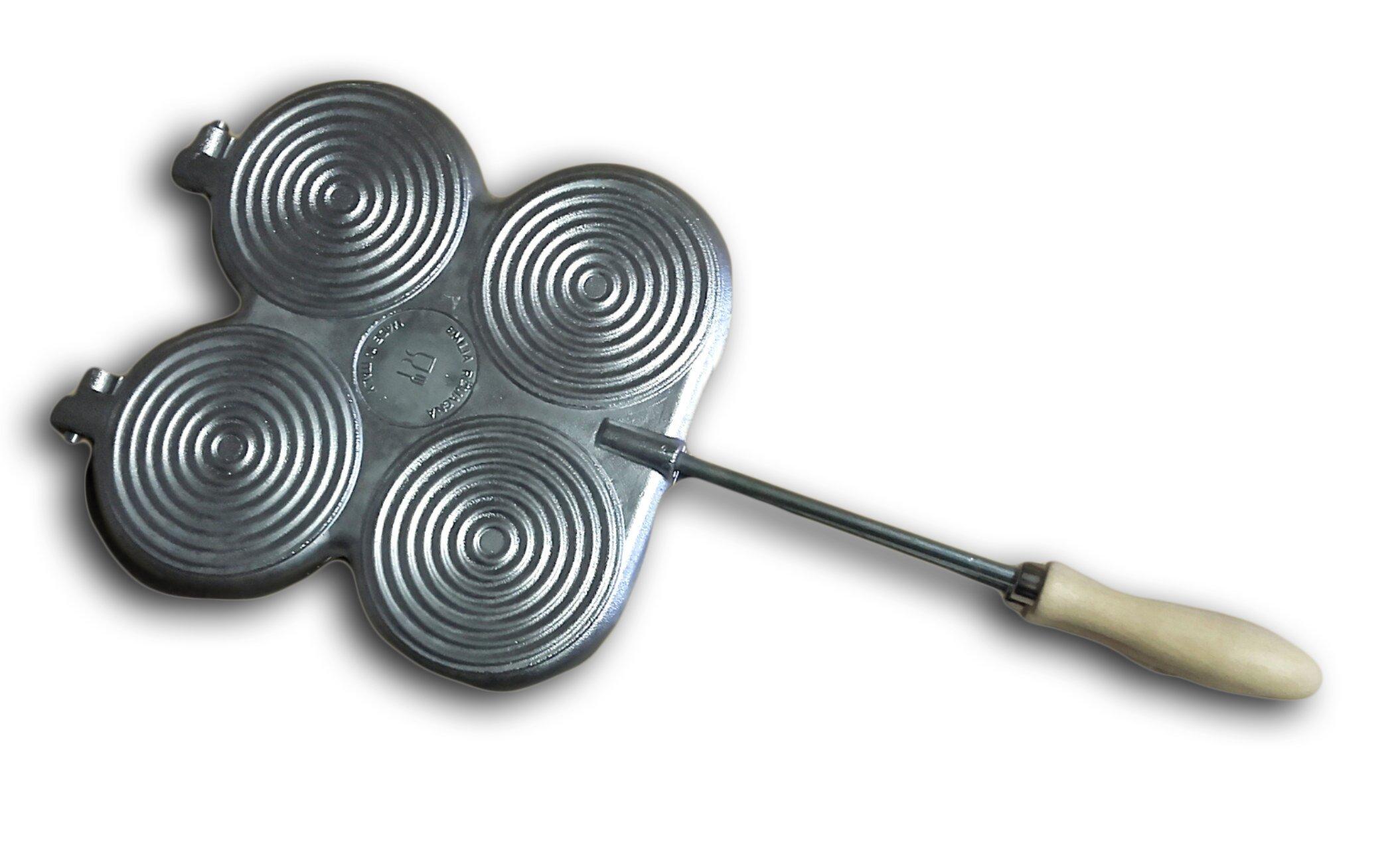 ELETTRO CENTER Art. 378GME-Frying Pan, Aluminium, Silver by ELETTRO CENTER