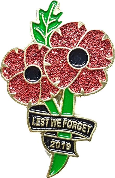 Badge Pin Poppy 2019