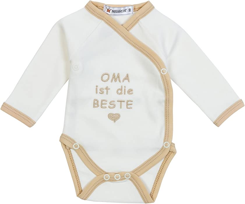 Oma Ich Liebe Dich Baby Bodys//Strampler 100/% Baumwolle TRS