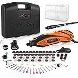TACKLIFE Mini Amoladora Eléctrica Advanced Professional Kit de Herramientas Rotatorias Multifunción con 80 Accesorios y…