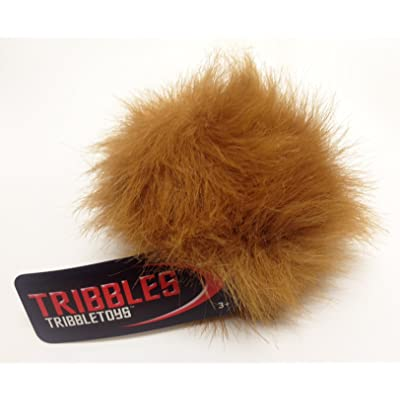 Star Trek Plush Tribble - Lt Brown Desert Tribble - Small Size: Toys & Games