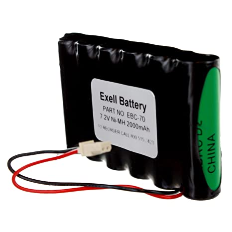 7 2V 2000mAh NiMH Replacement Battery for Lynx Touch L5000, L5100, L5200,  L5210, L7000, K10145PC10, LYNXRCHKIT-SC, LYNXRCHKITHC, 55026089,