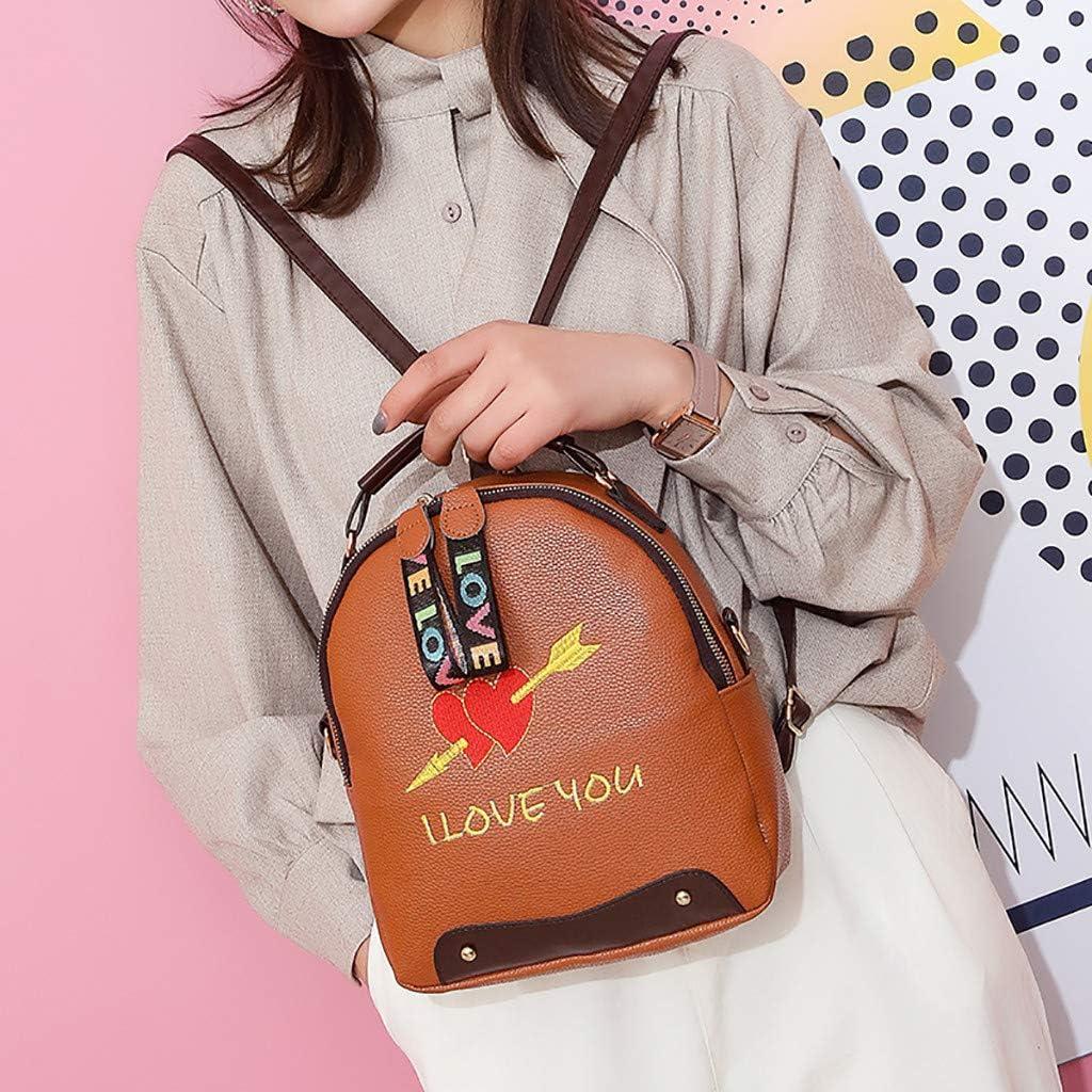 Gray BCDshop Women Joker Crossbody Shoulder Bag Girl Small Square Bag Fashion Backpack Rucksack