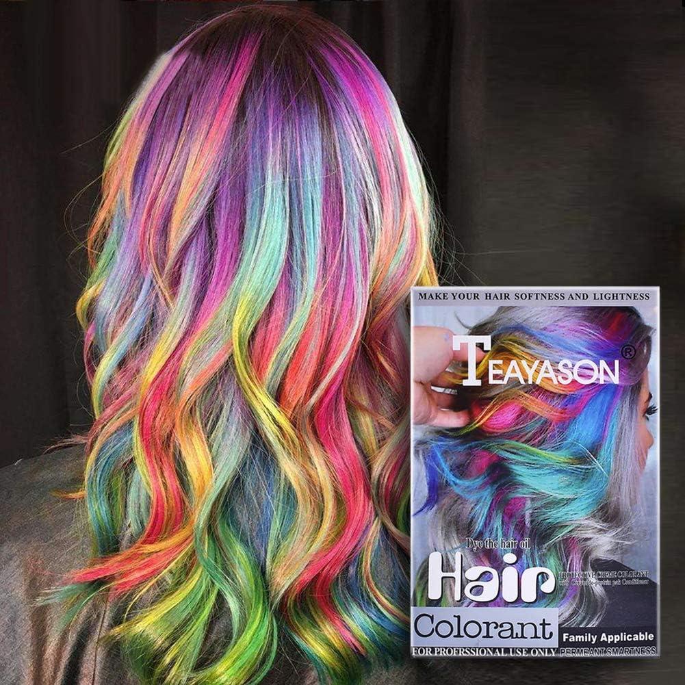 Tinte para cabello colorante peróxido de polvo colorante no ...