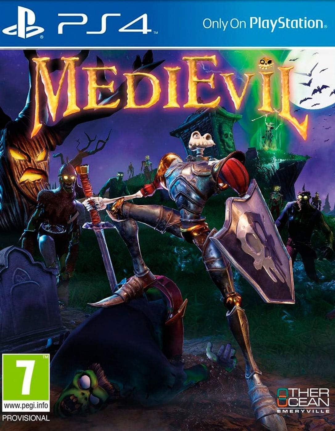 Medievil PS4: Amazon.es: Videojuegos