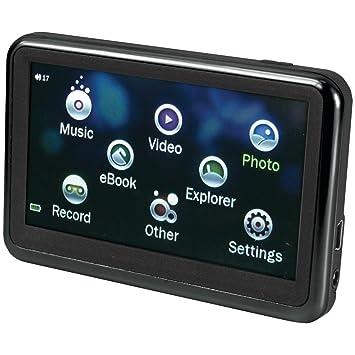 curtis smpk4230 black sylvania 4 gb 3 6 inch touch screen video mp3 rh amazon ca