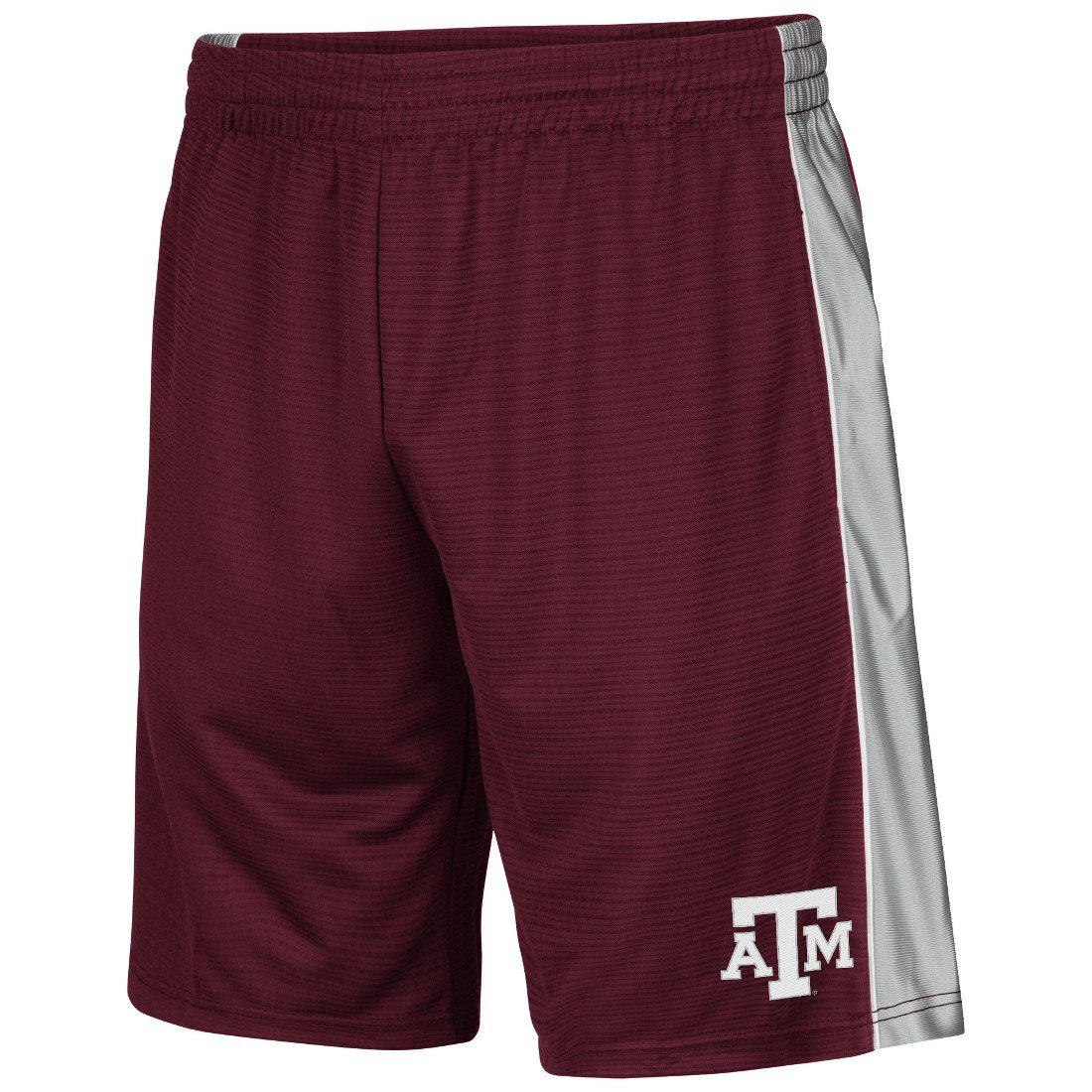 Texas A& M Aggies NCAA Layup II Embroidered Performance Training Shorts Colosseum