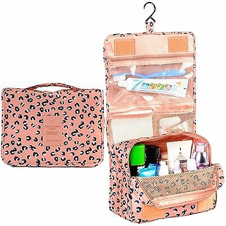 Amazon.com  L FY Multifunction Portable Travel Toiletry Bag Cosmetic Makeup  Pouch Toiletry Case Wash Organizer (Pink Leopard Print)  L FY 61d7d8c967