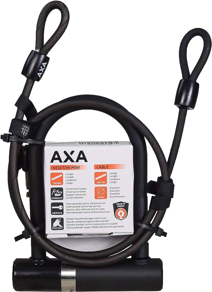 Le AXA Newton plug in cable lock