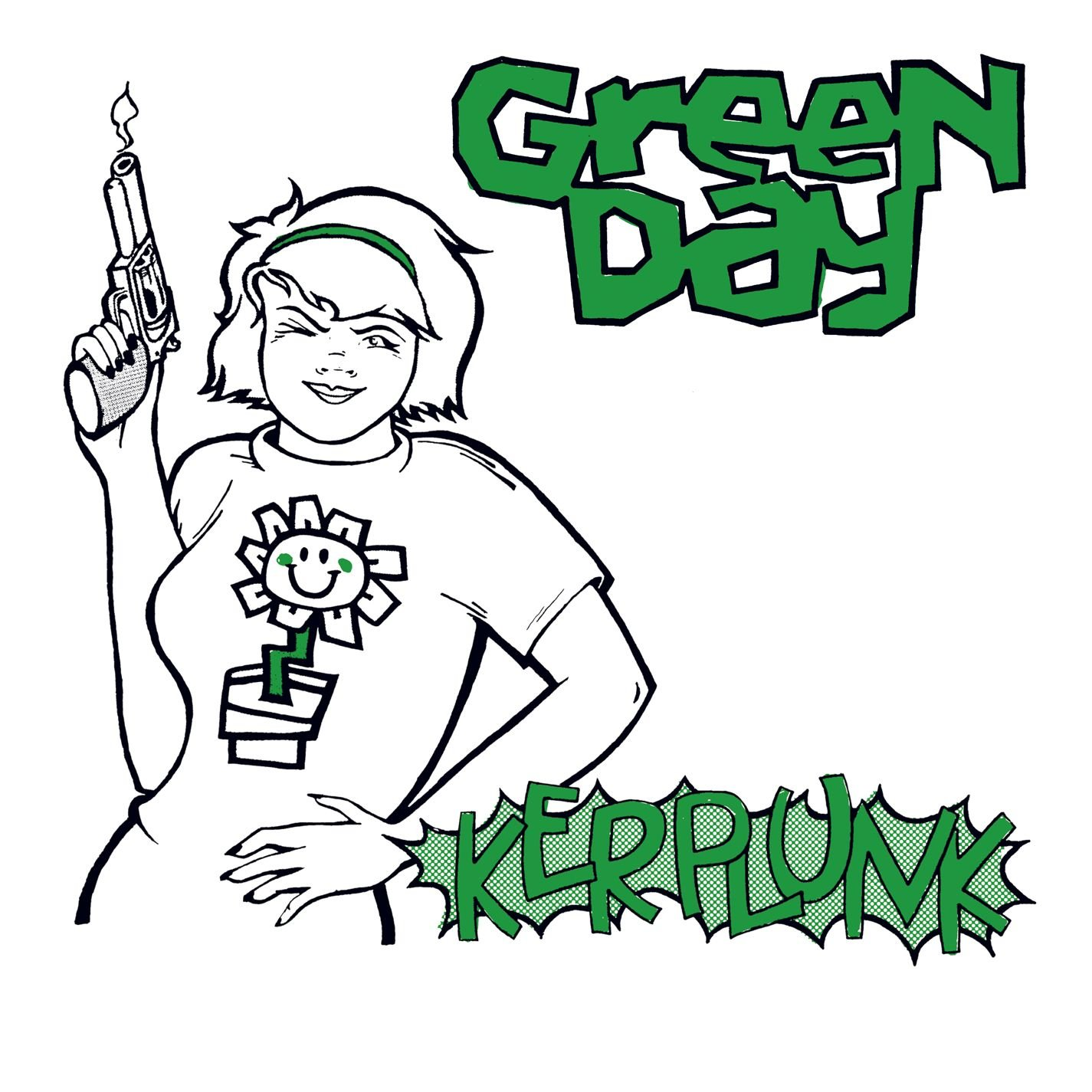 Rose Lalonde On The Cover Of Green Day 39 S Second Album