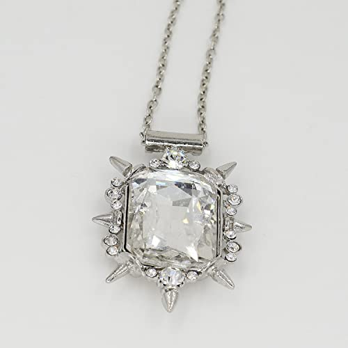 Amazon once upon a time glinda clear crystal pendant necklace once upon a time glinda clear crystal pendant necklace good witch of the north wizard of aloadofball Gallery