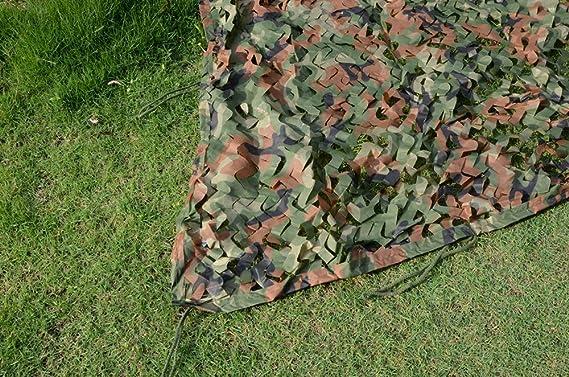 loogu Custom Woodland camuflaje militar de camping caza - Red de camuflaje: Amazon.es: Deportes y aire libre