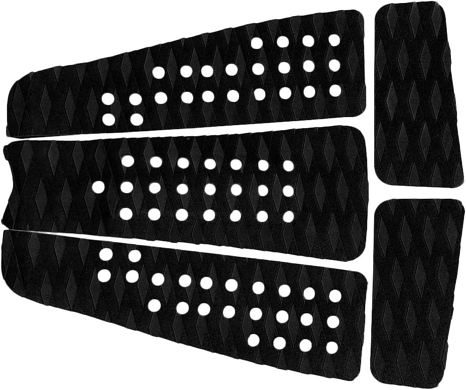 Jili Online 9X Non-Skid Front Foot Traction Pad Deck Grip /& Tail Pad for Surf Board