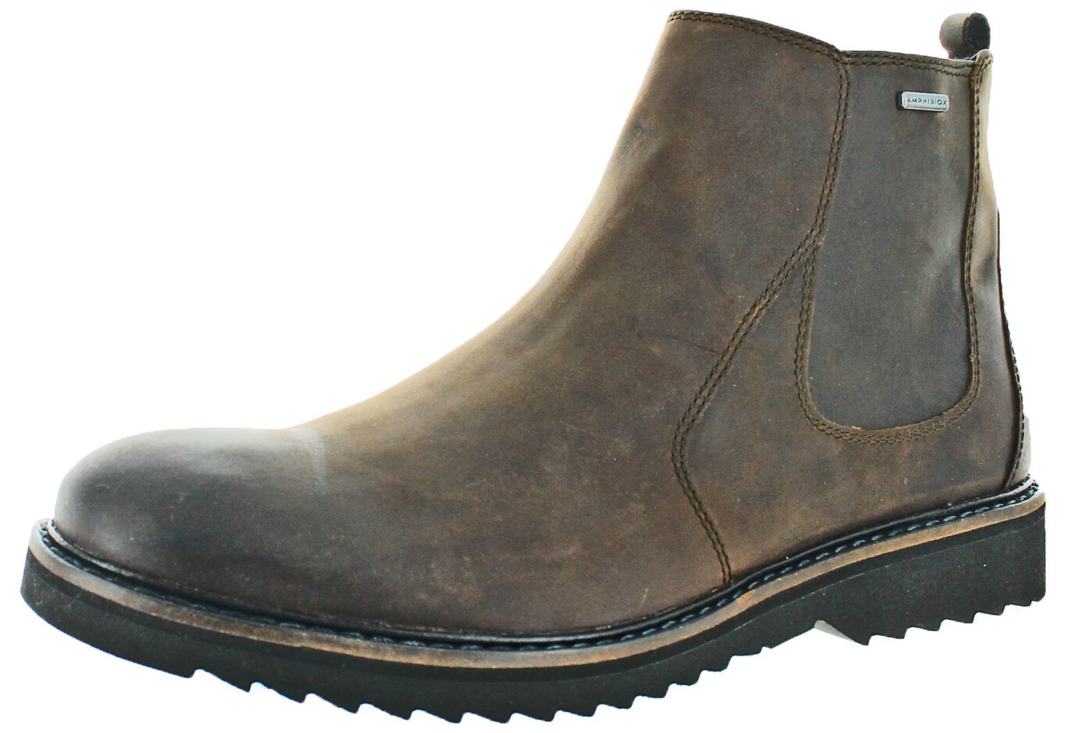 Geox Men's M Chester Abx 6 Chelsea Boot,Chestnut,46 EU/12.5 M US by Geox (Image #1)