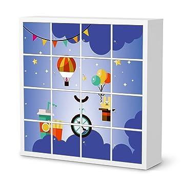 Klebefolie Ikea creatisto kindermöbel klebefolie für ikea kallax regal 16