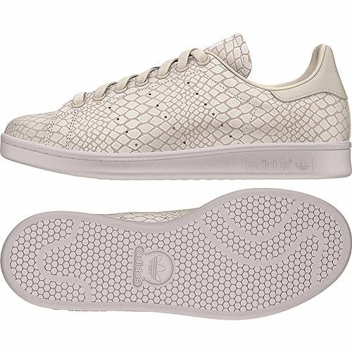 Adidas Stan Smith W S75136 - Zapatillas deportivas para mujer, beige y blanco, Talla del fabricante: 9.5 UK: Amazon.es: Deportes y aire libre