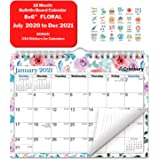 CRANBURY Small Wall Calendar 2020-2021 (Floral), Cute Mini Bulletin Board Calendar for Wall or Desk, 8x6 Inches, Use Now…