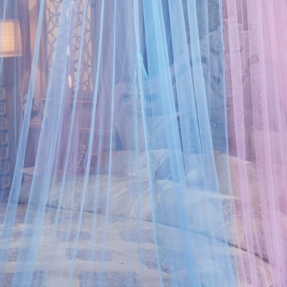 Mosquito Net Princess Dome Bed Canopy For Children Fly Insect Protection Indoor Decorative Height 2.8m Top 1.5m For 1.5-1.8m Bed