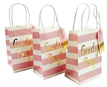 3 pequeñas bolsas de regalo de cumpleaños, dulces de boda ...