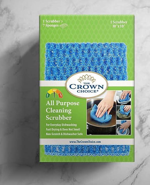 The Crown Choice Sin Olor Paño del plato para de uso múltiple se ...