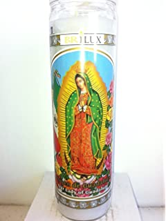 Amazon.com: Our Lady of Guadalupe Candle - Veladora Virgen de ...