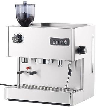 Cucina di Modena ES-800 - Cafetera espresso de 1500. MW con molinillo: Amazon.es: Hogar
