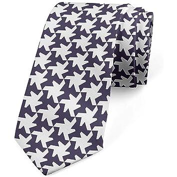 Corbata, Forma de Estrella Extravagante Moderna, Púrpura Oscuro ...