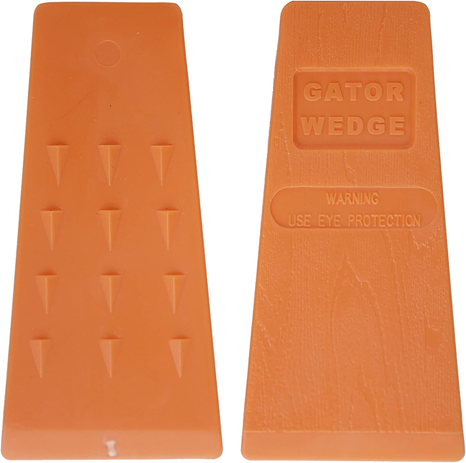 Gator Wedge USA Made 5.5 Inches Felling Wedges Logging Supplies for Chain Saw, 2 Pack