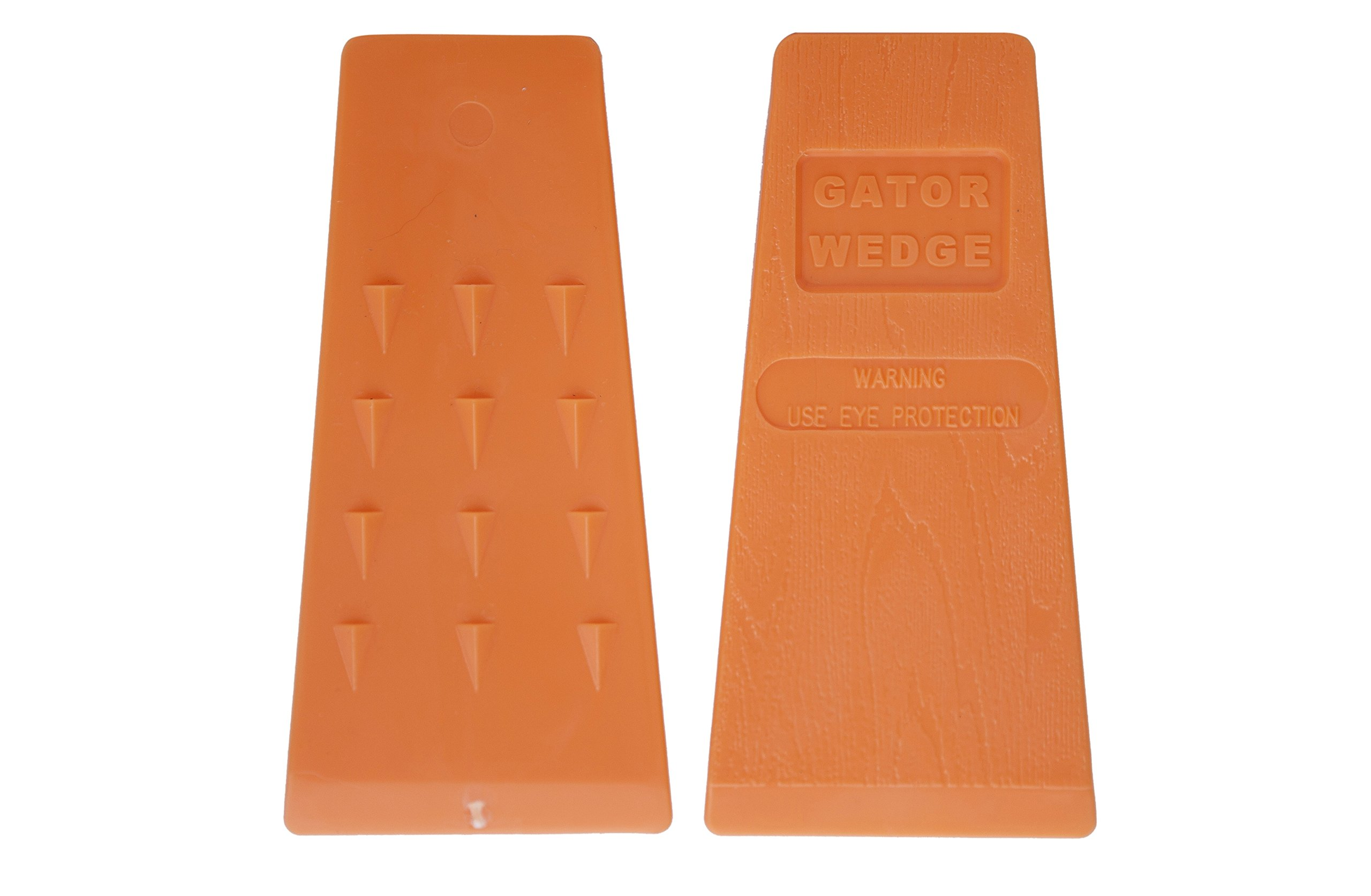 Gator Wedge USA Made 5.5 Inches Felling Wedges Logging Supplies for Chain Saw, 2 Pack by Gator Wedge