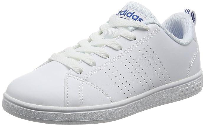 meet c561c 6352f adidas Vs Advantage Clean K, Chaussures de Gymnastique Mixte Enfant   Amazon.fr  Chaussures et Sacs