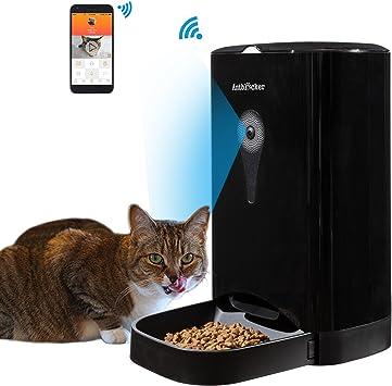 Amazon.com: Con vídeo/audio Smart Alimentador de Mascotas ...