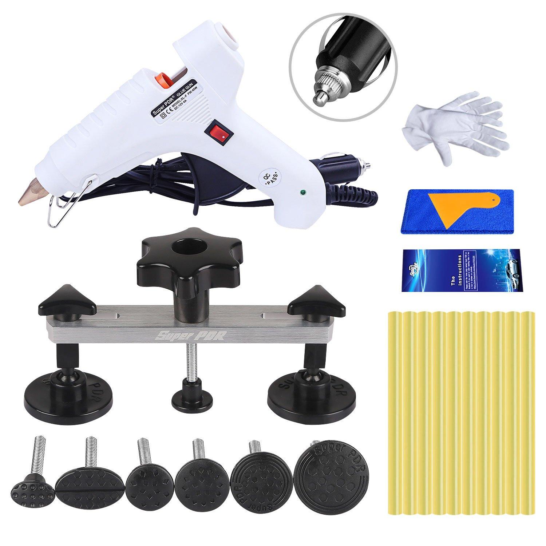 Fly5D Paintless Dent Repair Car Body Repair Tools Bridge Dent Puller Kit