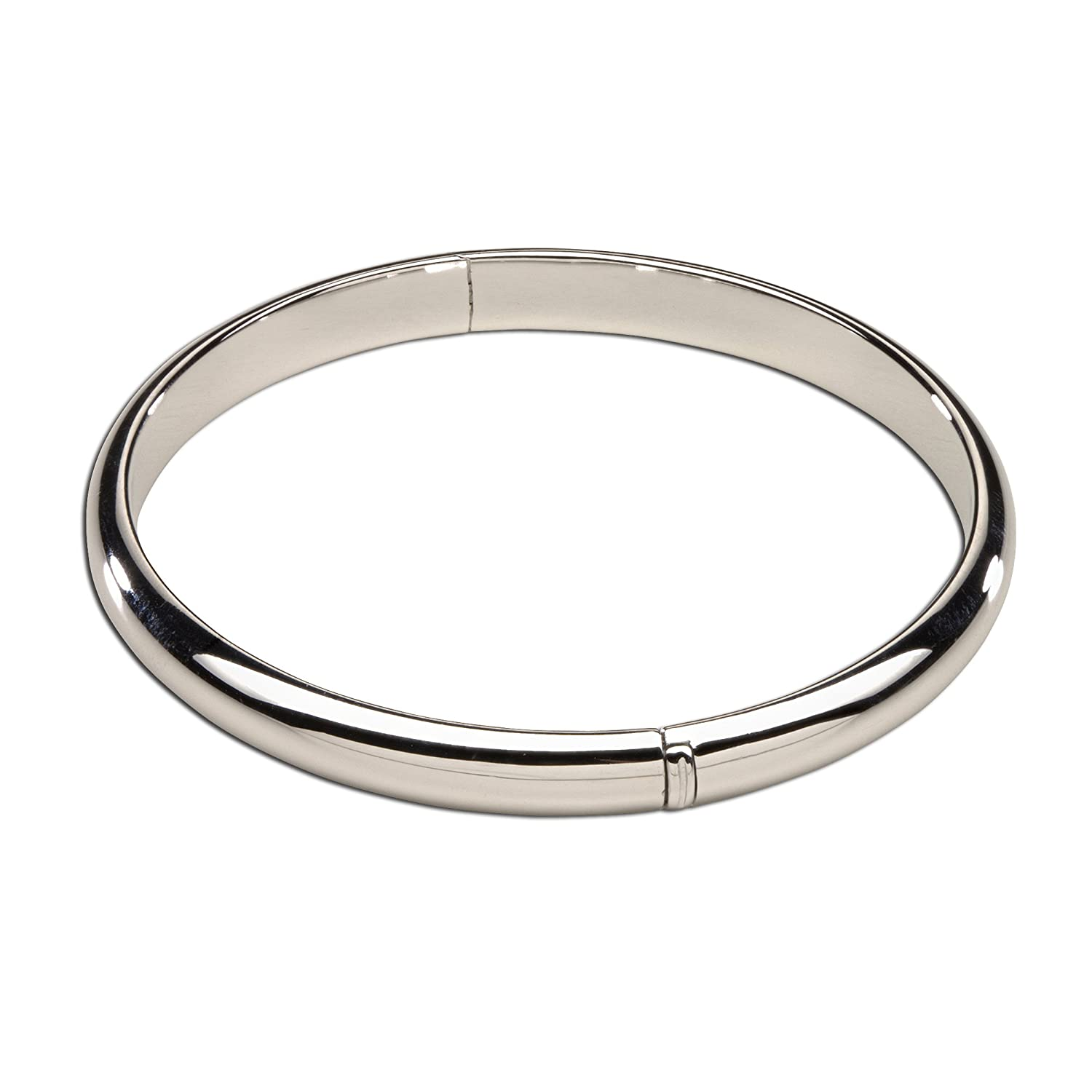 Precious Pieces Sterling Silver Baby Bangle Bracelet (0-12 Month)