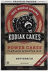 Kodiak Cakes Power Cakes, Flapjack and Waffle Mix, Buttermilk,20 oz