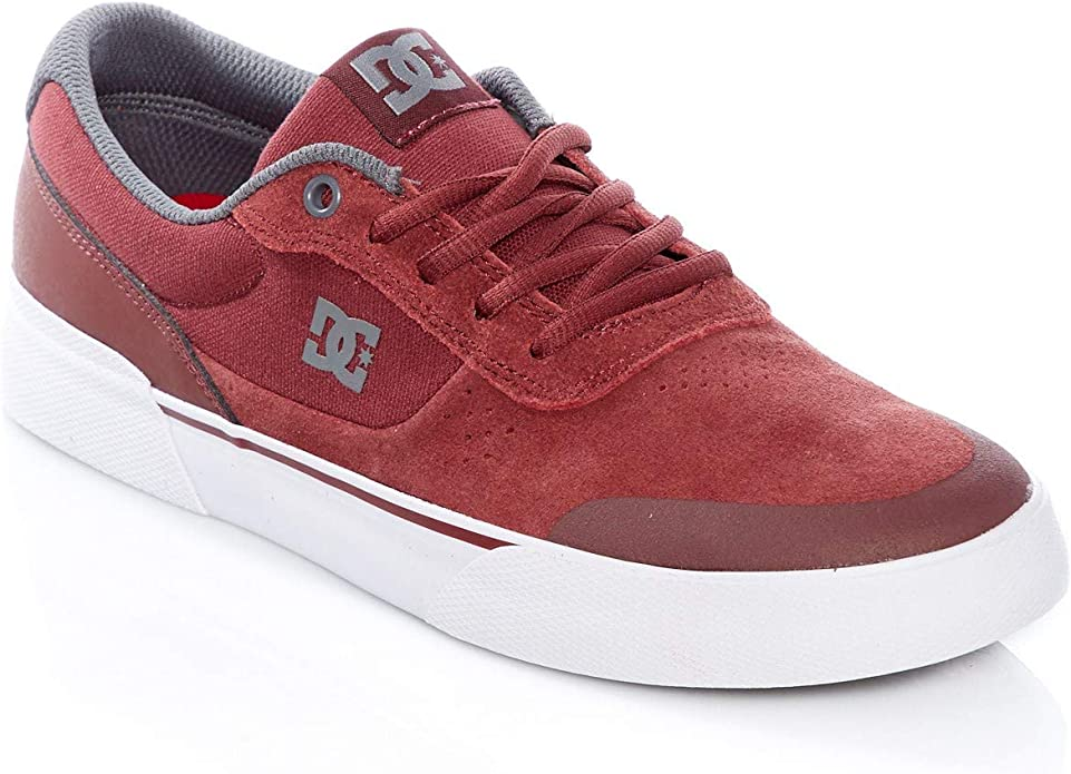 DC Shoes Switch Plus S Sneakers Herren Rot