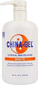 China-Gel - Topical Pain Reliever, 16 oz, White