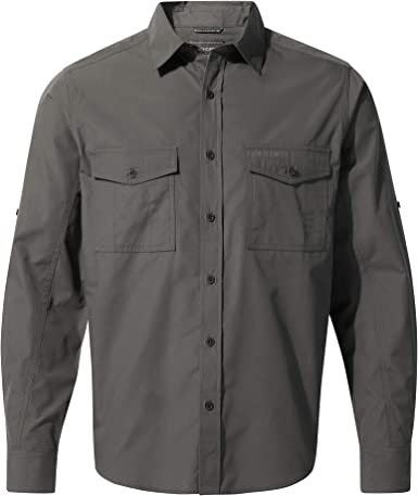 Craghoppers Kiwi Long Sleeved Camisa Hombre