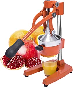 Gowintech Commercial Heavy Duty Cast Iron Hand Press Manual Orange Citrus Lemon Lime Grapefruit Pomegranate Fruit Juice Squeezer Machine
