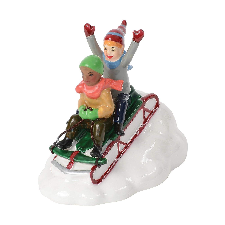 Multicolor Department56 Original Village Accessories Snow Day Figurine 3.3