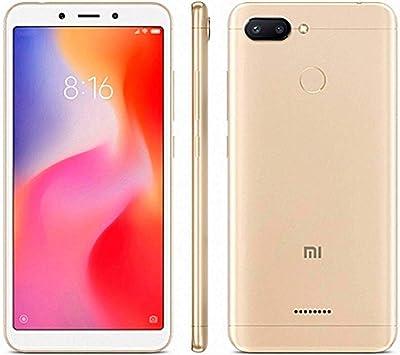 SMARTPHONE XIAOMI REDMI 6 4G 4GB 64GB DUAL-SIM GOLD: Amazon.es: Electrónica