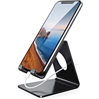 Lamicall Cell Phone Stand, Phone Dock: Cradle, Holder, Stand for Office Desk, Compatible with iPhone 11 Pro Xs Xs Max Xr…
