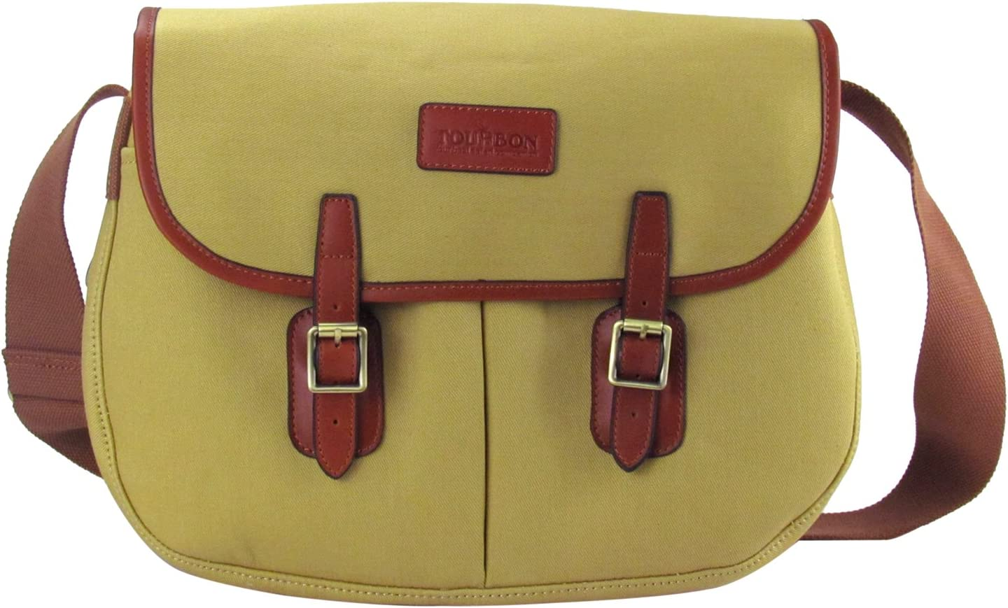 Tourbon Fly Fishing Game Bag Canvas and Leather Tackle