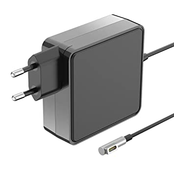 Cargador Macbook Pro, Adaptador de Corriente MagSafe-1 60W Forma de L para Appl Macbook Pro 13
