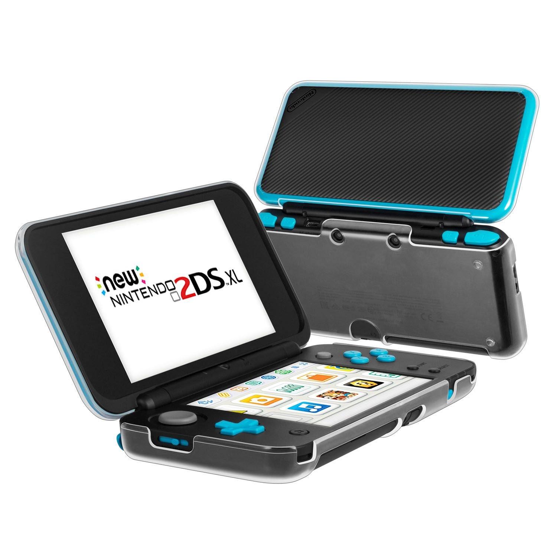 Funda para Nintendo New 2DS XL, Keten Carcasa Rígida Preotectora Ultra Transparente Cobertora Para la 2017 Nintendo New 2DS XL