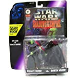 Star Wars, Shadows of the Empire, Prince Xizor and Darth Vader Action Figures, 3.75 Inches