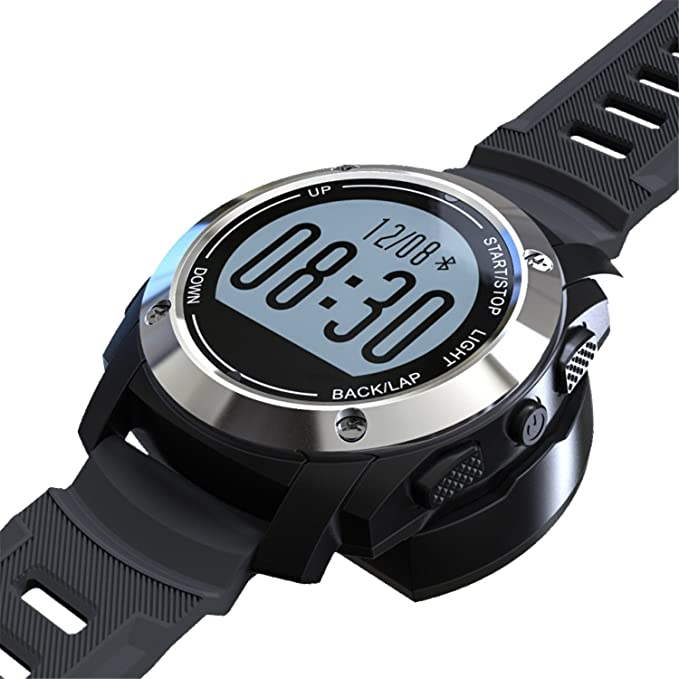 Amazon.com : LuckyNV S928 GPS Smart Watch Bluetooth 4.0 ...