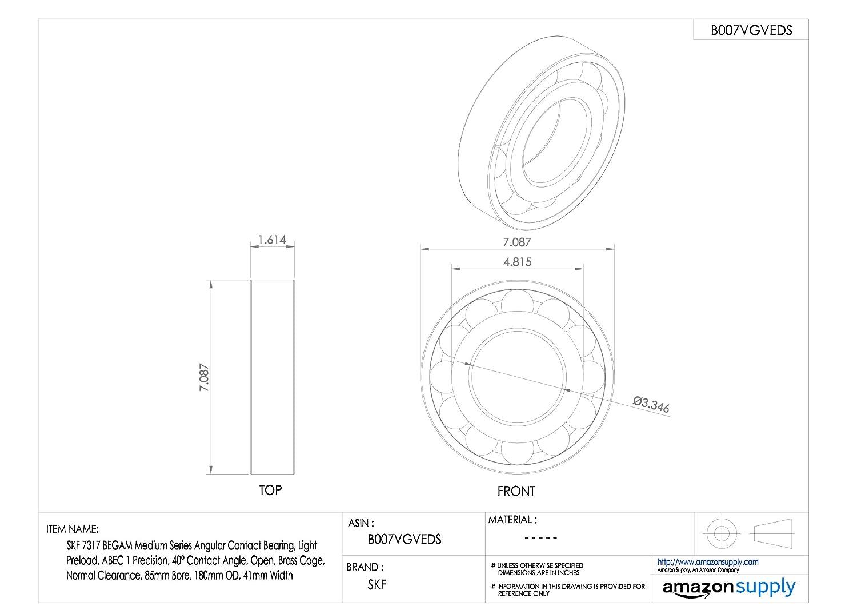 Ochoos Long-Lifetime High Speed Car Bearing Auto Wheel Hub Bearing DAC3060037 306037 30x60x37 mm