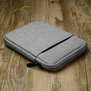 Cover for Kindle Paperwhite, Kindle 558, 958, KV E-Reader, 6-inch Kindle Sleeve Canvas Case .(Dark Gray)